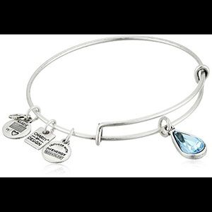 Alex + Ani Living Water Bangle in Silver